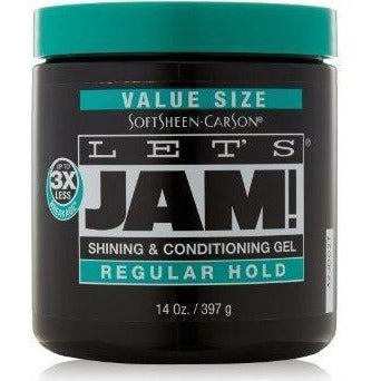 Let's Jam! Shining & Conditioning Regular Hold Gel 14 oz