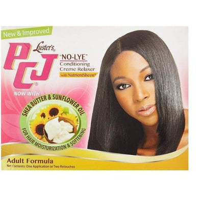 Luster's PCJ No-Lye Conditioning & Creme Relaxer Kit Adult Formula