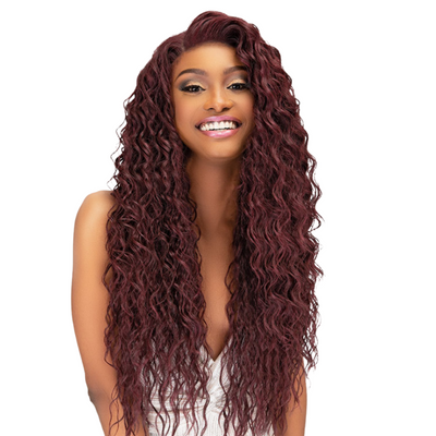 "Janet Collection Melt Transparent  13"" X 6"" HD Lace Frontal Wig - Lynette"