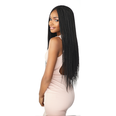 Sensationnel Lulutress Synthetic Braids – 3X Micro Box Braid 24""