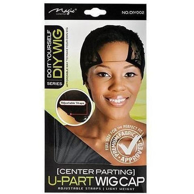 Magic Center Parting U-Part Wig Cap #DIY002