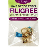 Magic Collection Filigree Tube With Tassel, Assorted #FILICHA16