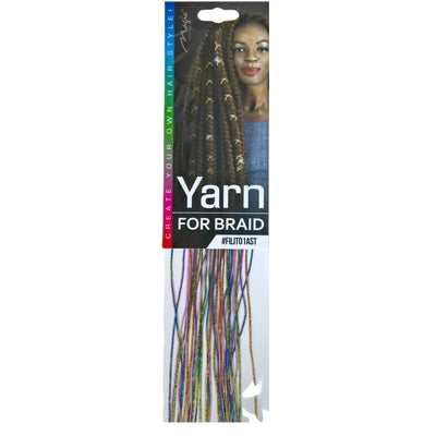 Magic Collection String for Braid, Assorted Color #FILITO1AST
