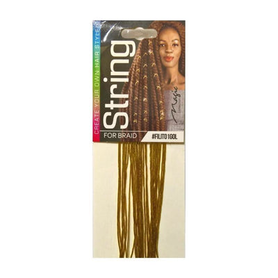 Magic Collection String for Braid, Metallic Gold #FILITO1GOL