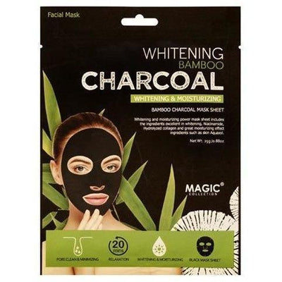 Magic Collection Whitening & Moisturizing Bamboo Charcoal Sheet Mask