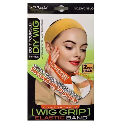 Magic Wig Grip Elastic Band 2PCS #DIY011BLO