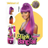 Mane Concept Synthetic Yellowtail High BangTail Ponytail - YTHB01 Selene