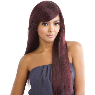 Mane Concept Mega Silk Brazilian Weave – Smooth Textured Yaky & Part Closure