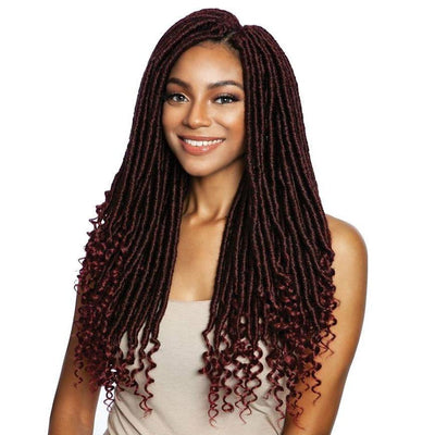 Mane Concept Synthetic Afri-Naptural Braids – 2X Trini Goddess Locs 18""