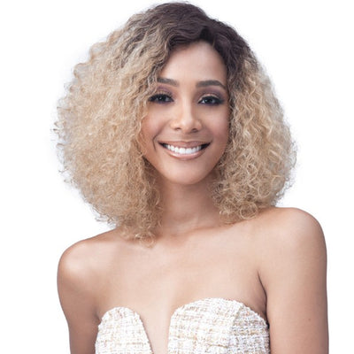 "Bobbi Boss 100% Human Hair 4""x 4"" Wide Swiss Lace Front Wig -  MHLF700 Tinashe"