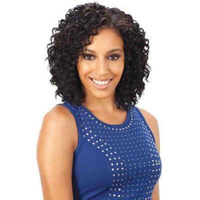 MilkyWay Que Short Cut Series Weave – Q-Appeal Curl 3PCS