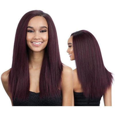 "MilkyWay Que Weave – Malaysian Ironed Texture Natural Straight 7PCS (12"", 13"", 14"")"