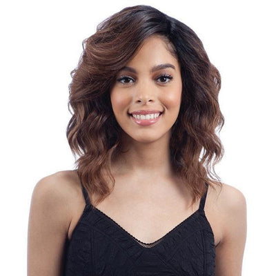 Model Model Deep Invisible L-Part Lace Front Wig – Bubble Meadow