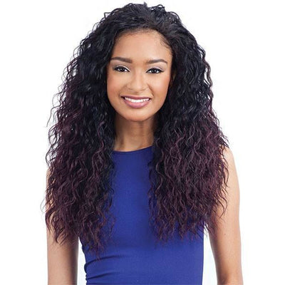 Model Model Fullcap Drawstring Synthetic Half Wig – Appletini