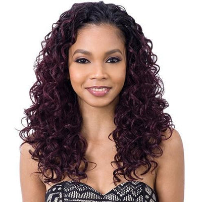 Model Model Fullcap Drawstring Synthetic Half Wig – Cojito