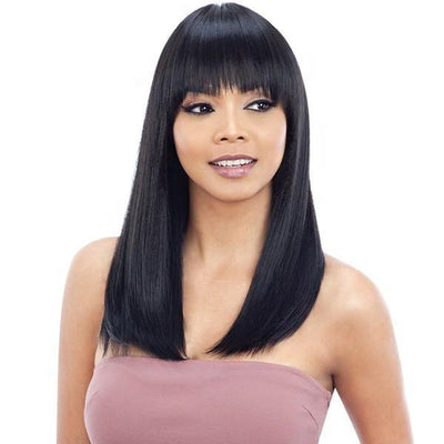 Model Model Synthetic Freedom Wig – Number W02