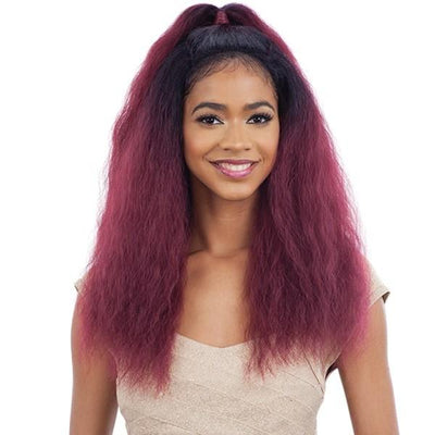 Model Model Synthetic Half-Up Lace Front Wig – Capri