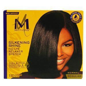 Motions Smooth & Straighten Silkening Shine No-Lye Relaxer System REGULAR