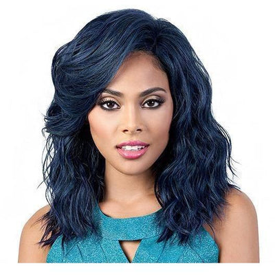 Motown Tress Human Hair Blend Deep Part Lace Front Wig – HBLDP.Fia