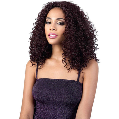 Motown Tress Quick-N-Easy Half Wig – QE.Abby