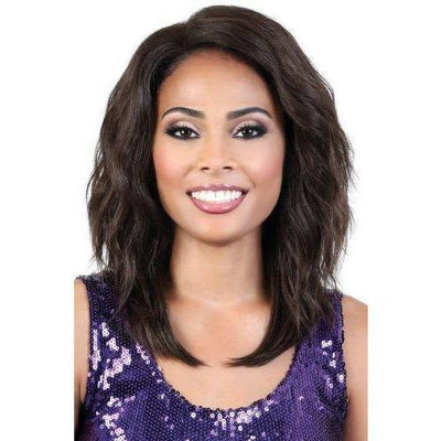 Motown Tress Synthetic Deep Part Swiss Lace Front Wig – LDP-Eva
