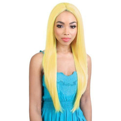 Motown Tress Deep Part Synthetic Swiss Lace Front Wig – LDP-Neon