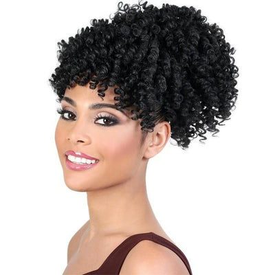 Motown Tress PonyDo Bang Pony Synthetic Drawstring Ponytail – PD-Bang240