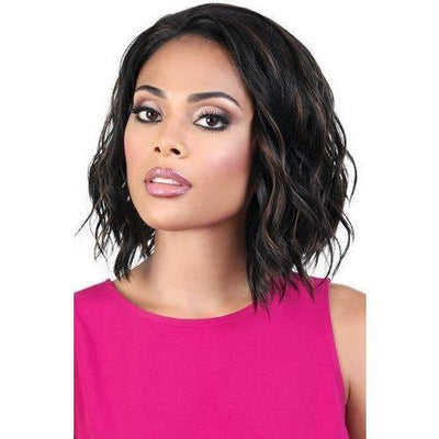 Motown Tress Synthetic Quick-N-Easy Half Wig – QE.Tanika