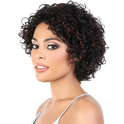 Motown Tress 100% Virgin Remy Human Hair Wig - HPR.Berry