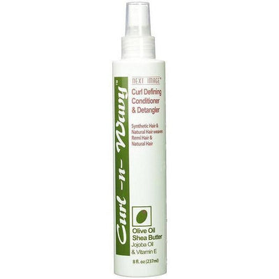 Next Image Curl-N-Wavy Curl Defining Conditioner & Detangler Spray 8 OZ