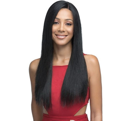"Bobbi Boss Indi Remi HD 13"" x 4"" 360° Virgin Remy Human Hair Lace Wig - MHRLF-008 Natural Straight 22"""