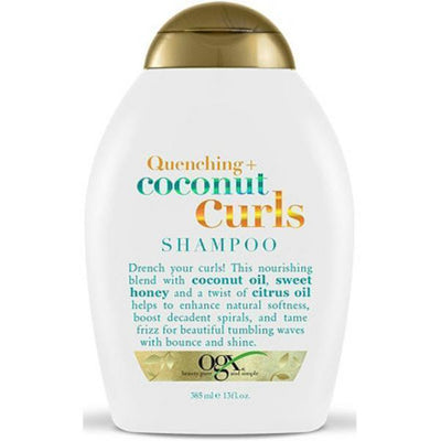OGX Organix Quenching Coconut Curls Shampoo 13 OZ