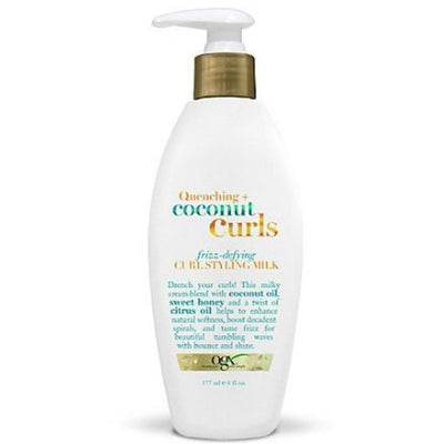 OGX Organix Quenching Coconut Curls Curl Styling Milk 6 OZ
