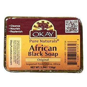 OKAY African Black Soap Original 5.5 OZ