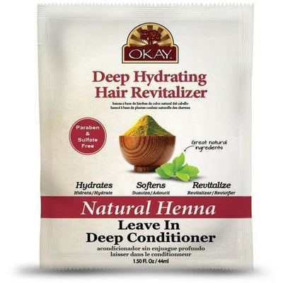 OKAY Natural Henna Leave In Deep Conditioner 1.5 OZ