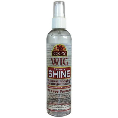 OKAY Premium Oil Free Wig Shine 8 OZ