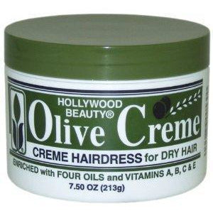 Hollywood Beauty Olive Creme 7.5 OZ