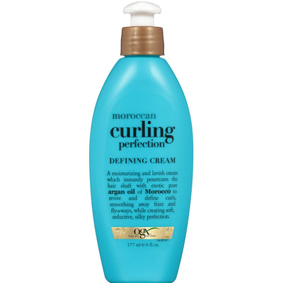 OGX Organix Moroccan Curling Perfection Defining Cream 6 OZ