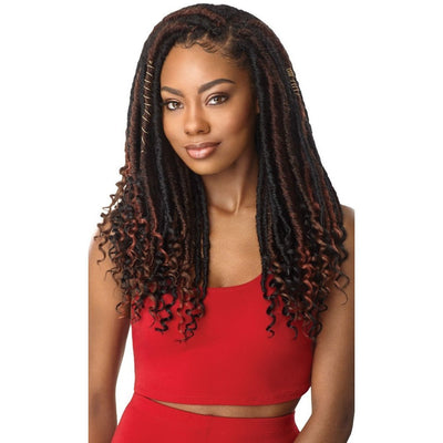Outre Synthetic X-Pression Braid – Straight Bahama Locs