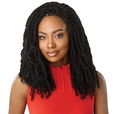 Outre X-Pression Twisted Up Synthetic Braids – Original Bomb Twist
