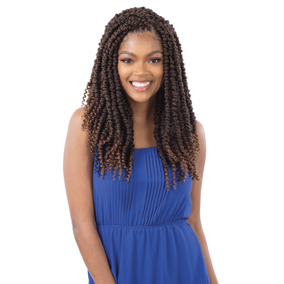 FreeTress Synthetic Crochet Braids - 3X Large Passion Twist 14""