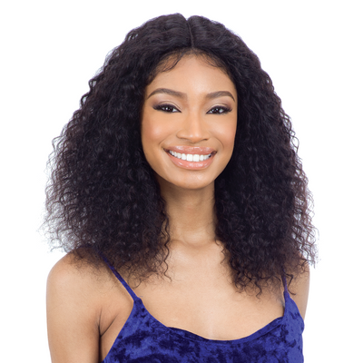 Shake N' Go Naked Brazilian Natural 100% Human Hair Lace Front Wig- Sonoma