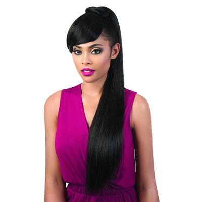 Motown Tress PonyDo Bang Pony Drawstring Synthetic Ponytail – PD-BangDo2