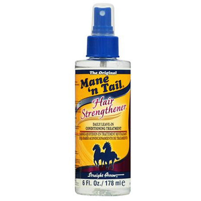 Mane N' Tail Hair Strengthener Daily Leave-in Conditioner Treatment 6 OZ