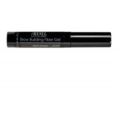 Ardell Professional Brow Building Fiber Gel - Dark Brown 0.25 OZ
