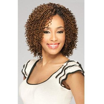 MilkyWay Que Short Cut Series Weave – Jerry Curl 3PCS