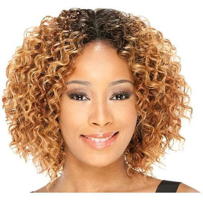 MilkyWay Que Short Cut Series Weave – Q-Lush Curl 3PCS