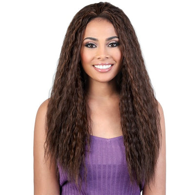 Motown Tress Quick-N-Easy Half Wig – QE.Indi