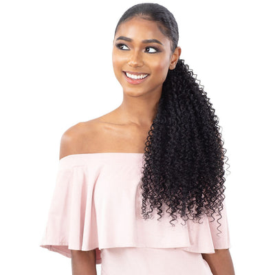 Shake-N-Go Organique MasterMix Pony Pro Wrap-Around Synthetic Ponytail - Bohemian Curl 32""