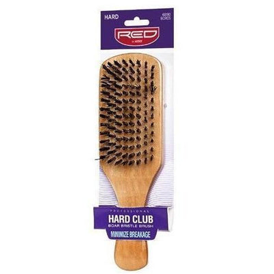 Red by Kiss Hard Club Boar Bristle Brush #BOR05